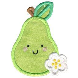 Applique Pear