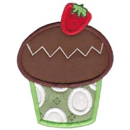 Hello Cupcake Applique 11