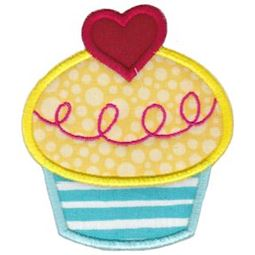 Hello Cupcake Applique 13