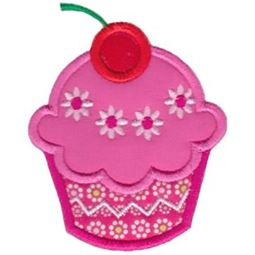 Hello Cupcake Applique 2