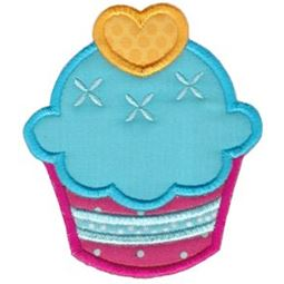 Hello Cupcake Applique 3