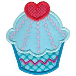 Hello Cupcake Applique 4