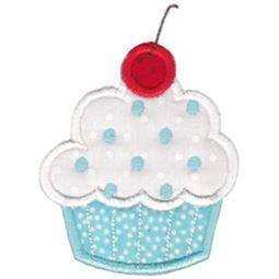 Hello Cupcake Applique 7