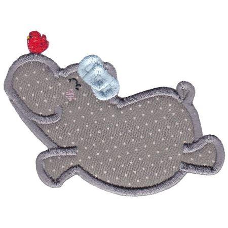 Hippos Applique 15
