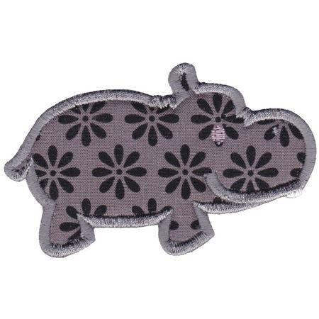 Hippos Applique 16