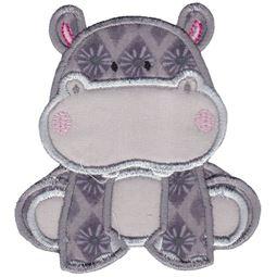 Hippos Applique 3