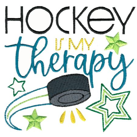 Hockey Is My Therapy