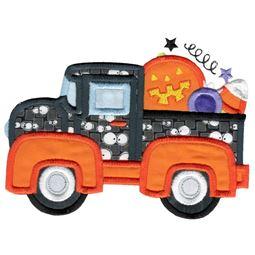 Halloween Vintage Truck