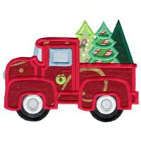 Holiday Trucks Applique