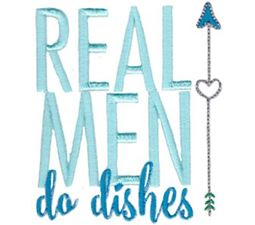 Real Men Do Dishes