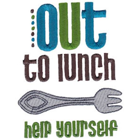 Out To Lunch Help Yourself