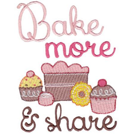 Bake More And Share