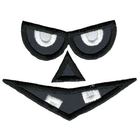 Jack-O-Lantern Faces Applique 12