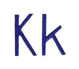 Jellybean Sandwich Font K