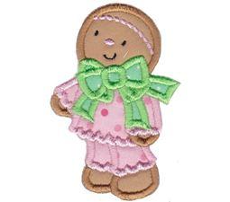 Jolly Gingerbreads Applique 13