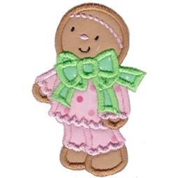 Jolly Gingerbreads Applique 13