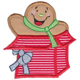 Jolly Gingerbreads Applique 14