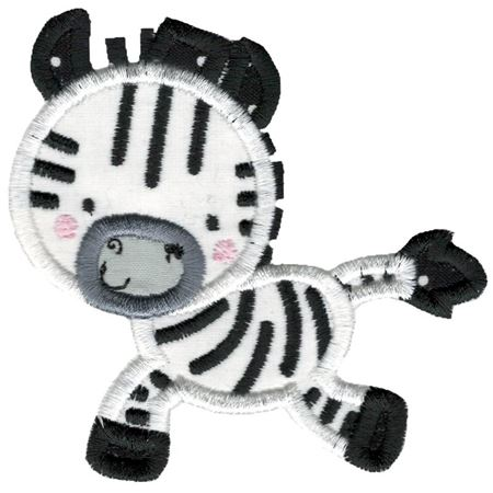 Applique Zebra