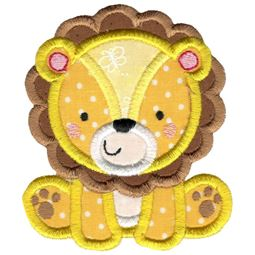 Applique Lion
