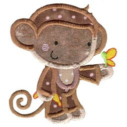 Applique Monkey