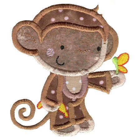 Applique Monkey