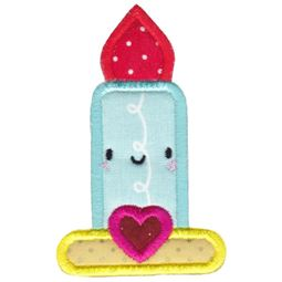 Kawaii Candle Applique