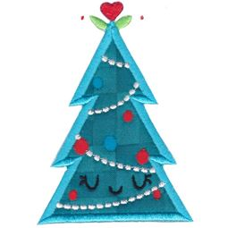 Christmas Tree Applique