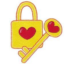 Heart Lock and Key