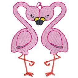 Flamingos Heart