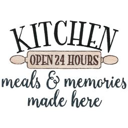 Kitchen Meals And Memories Made Here