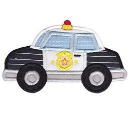 Police Car Applique