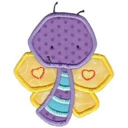 Little Butterfly Applique