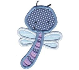 Little Dragonfly Applique