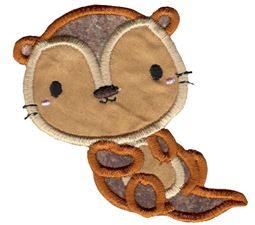 Little Otter Applique 1