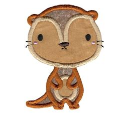 Little Otter Applique 2