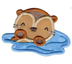 Little Otter Applique 3