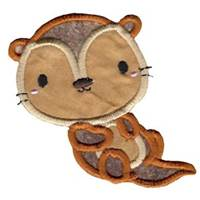 Little Otter Applique