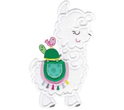 Love My Llama Applique 1