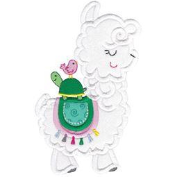 Love My Llama Applique 1