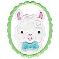Love My Llama Applique 14