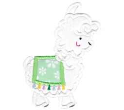 Love My Llama Applique 2