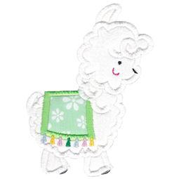Love My Llama Applique 2