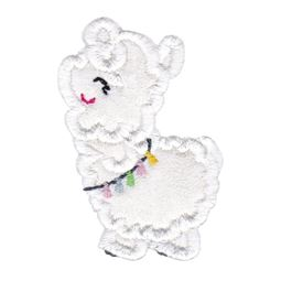 Love My Llama Applique 3