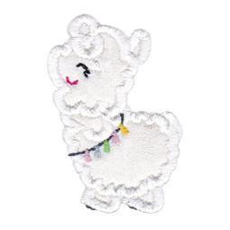 Love My Llama Applique 3