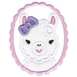 Love My Llama Applique 5