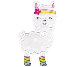 Love My Llama Applique 7
