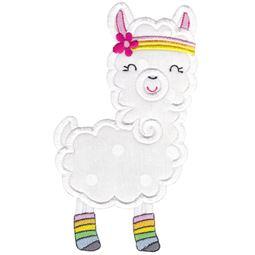 Love My Llama Applique 7