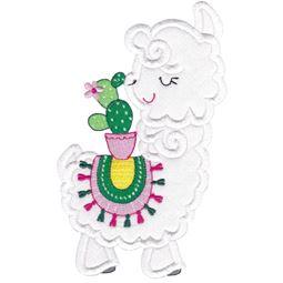 Love My Llama Applique 9