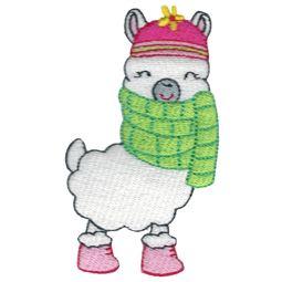 Winter Llama