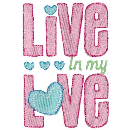 Live In My Love